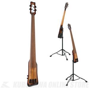Ibanez UB804-MOB(Mahogany Oil Burst)《アップライトベース》 (サントアンジェロAcousticケーブルプレゼント)(ご予約受付中) kurosawa-unplugged