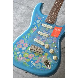 Fender Made in Japan Traditional MIJ '60s Stratocaster , Rosewood, Blue Flower (エレキギター/ストラトキャスター)(送料無料)【アウトレット特価】|kurosawa-unplugged