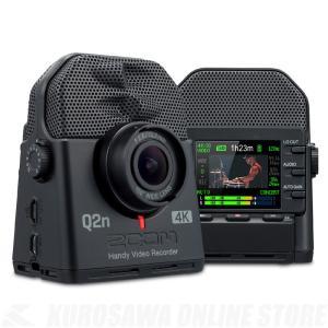 ZOOM Q2n-4K《ハンディビデオレコーダー》《送料無料》(ご予約受付中)