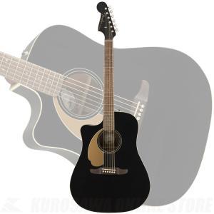 Fender Redondo Player LH, Walnut Fingerboard, Jetty Black【送料無料】(ご予約受付中)|kurosawa-unplugged