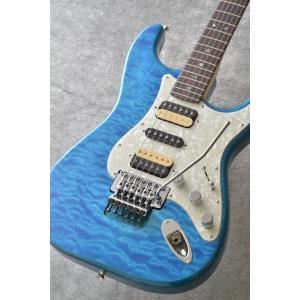 Fender Michiya Haruhata Stratocaster, Rosewood Fingerboard, Caribbean Blue Trans[春畑道哉シグネチャーモデル]|kurosawa-unplugged