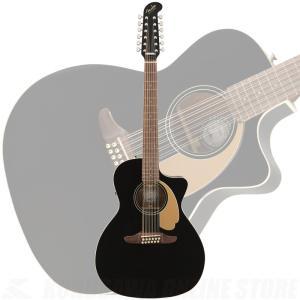 Fender Villager 12-String, Walnut Fingerboard, Black V3《12弦ギター》【サントアンジェロAcousticケーブルプレゼント!】|kurosawa-unplugged