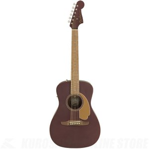 Fender Malibu Player, Walnut Fingerboard, Burgundy Satin【Nine Musicアクセサリーパックプレゼント!】(ご予約受付中)|kurosawa-unplugged