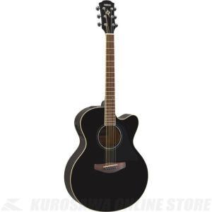 Yamaha CPX600/BL(ブラック)(アコースティックギター/エレアコ)(送料無料)(サントアンジェロAcousticケーブルプレゼント!)|kurosawa-unplugged