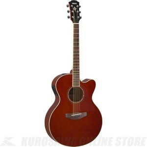 Yamaha CPX600/RTB(ルートビア)(アコースティックギター/エレアコ)(送料無料)(サントアンジェロAcousticケーブルプレゼント!)|kurosawa-unplugged