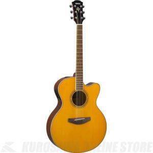 Yamaha CPX600/VT(ビンテージティント)(アコースティックギター/エレアコ)(送料無料)(サントアンジェロAcousticケーブルプレゼント!)|kurosawa-unplugged