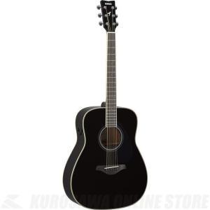 Yamaha FG-TA/BL(ブラック)(トランスアコースティックギター)(送料無料)|kurosawa-unplugged