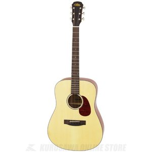 Aria 100 series Aria-111 Dreadnought MTN (Natural, Matt)(アコースティックギター)(送料無料)|kurosawa-unplugged