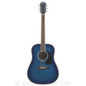 Aria AD-18 BLS (Blue Shade)(アコースティックギター)(送料無料)(5のつく日ポイントUP中)|kurosawa-unplugged