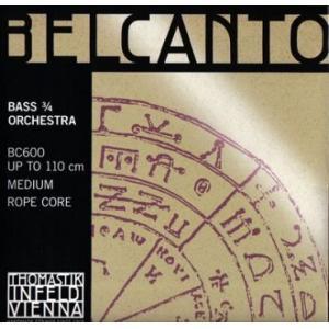Belcanto (ベルカント) コントラバス弦 セット BC600 kurosawa-unplugged