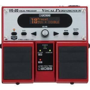 BOSS VE-20 (ボーカル用マルチエフェクター)(マンスリープレゼント)