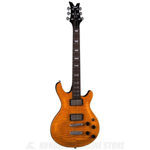●DEAN Icon Series / Icon Flame Top - Trans Amber I...