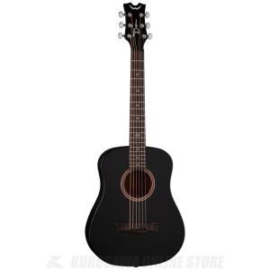 ●DEAN Flight Mahogany Travel Guitar BKS w/Gig Item...