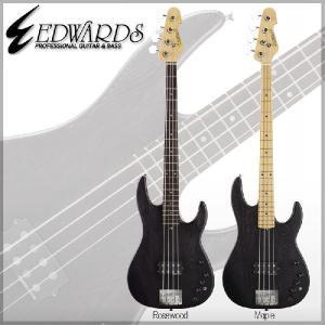 Edwards Artist Series EDWARDS E-AP-123 Kazuhiko (炭 Black/Rosewood/Maple) [ 中村 和彦 / 9mm Parabellum Bullet ] (送料無料)|kurosawa-unplugged