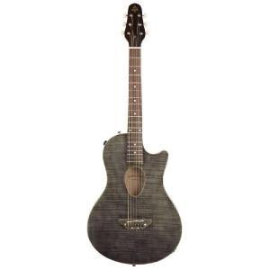 ESP BambooInn-CE(See Thru Black)(Charプロデュース・コンパクトエレアコギター)(送料無料)(お取り寄せ)|kurosawa-unplugged