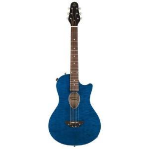 ESP BambooInn-CE(See Thru Blue)(Charプロデュース・コンパクトエレアコギター)(送料無料)(お取り寄せ)|kurosawa-unplugged