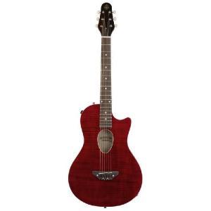 ESP BambooInn-CE(See Thru Red)(Charプロデュース・コンパクトエレアコギター)(送料無料)(お取り寄せ)|kurosawa-unplugged