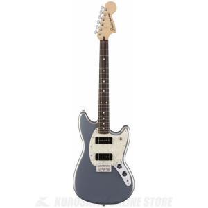 Fender Mustang 90, Pau Ferro Fingerboard, Silver(エ...