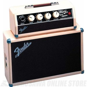 Fender Mini Tonemaster Amplifier, Tan/Brown (ミニアンプ...