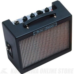 Fender MD20 Mini Deluxe Amplifier, Black (ミニアンプ)
