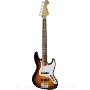 SQUIER Affinity Series / Affinity Jazz Bass V (5 String), Indian Laurel Fingerboard, Brown Sunburst(ベース)(マンスリープレゼント)(お取り寄せ)|kurosawa-unplugged