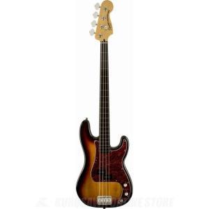 SQUIER Vintage Modified Precision Bass Fretless, Ebonol Fingerboard, 3-Color Sunburst(ベース)(マンスリープレゼント)|kurosawa-unplugged