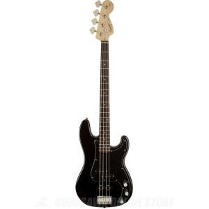 SQUIER Affinity Series / Affinity Series Precision Bass PJ, Rosewood Fingerboard, Black(ベース)(マンスリープレゼント)|kurosawa-unplugged