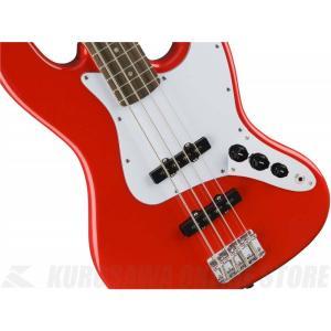 Squier Affinity Jazz Bass, Indian Laurel Fingerboard, Race Red[0310760570](ベース/ジャズベース)(送料無料)(マンスリープレゼント)(お取り寄せ)|kurosawa-unplugged|03