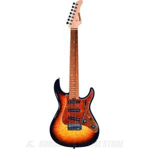 FERNANDES RT-7 3Tone Sunburst (7弦ギター/エレキギター)(送料無料)|kurosawa-unplugged