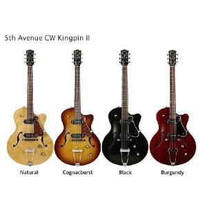Godin 5th Avenue Kingpin CW-2(ストラップラバー付) (マンスリープレゼント)|kurosawa-unplugged