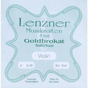 Goldbrokat ゴールドブロカット E線 027スチール/ループエンド (ネコポス)|kurosawa-unplugged