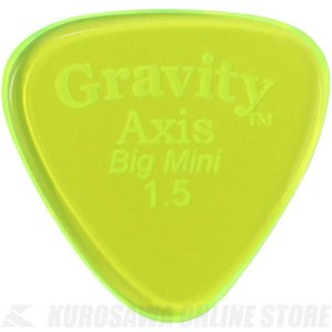 GRAVITY GUITAR PICKS GAXB15P (1.5mm, Fluorescent Green) (ピック)(ネコポス)|kurosawa-unplugged