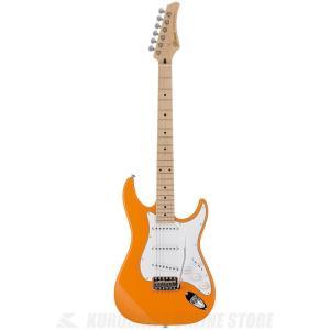 Greco WS-STD (Light Orange / Maple)(エレキギター)(日本製)(送料無料)(ストラップラバープレゼント)|kurosawa-unplugged