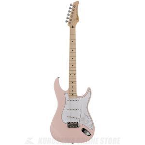 Greco WS-STD (Light Pink / Maple)(エレキギター)(日本製)(送料無料)(ストラップラバープレゼント)|kurosawa-unplugged