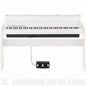 【大決算セール!ポイントアップ!】KORG LP-180 WH (デジタルピアノ)(関東地方配送料無...