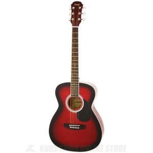Legend FG-15 RS(Red Shade) (アコースティックギター)(初心者向け)(ソフトケース付属)(マンスリープレゼント) kurosawa-unplugged