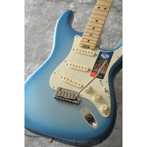 Fender American Elite Stratocaster, Maple Fingerboard, Sky Burst Metallic(エレキギター)(マンスリープレゼント)|kurosawa-unplugged