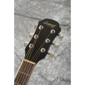 Legend FG-15 BK(Black) (アコースティックギター)(初心者向け)(ソフトケース付属)(マンスリープレゼント) kurosawa-unplugged 04