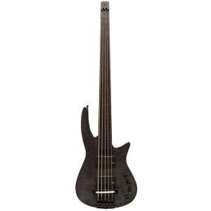 NS Design RADIUS5 Bass Fletless(Charcoal Satin)(フレットレスベース)(送料無料)(ストラップラバープレゼント)|kurosawa-unplugged