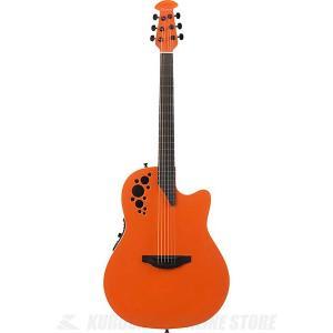 Ovation Elite TX Super Shallow - 1868TX(Gloss Orange)  (アコースティックギター/セミアコ)(送料無料)|kurosawa-unplugged