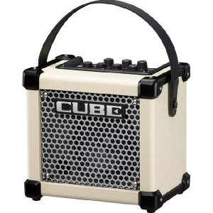 Roland MICRO CUBE GX W 3Wマイクロ・アンプ [M-CUBE GXW] (ホワイト) (送料無料)(マンスリープレゼント)|kurosawa-unplugged