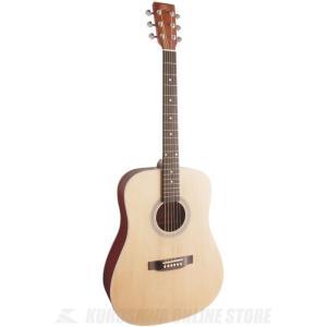 SX SD204 NAT (ドレッドノートタイプ・アコースティックギター) (ナチュラル) (送料無料)|kurosawa-unplugged