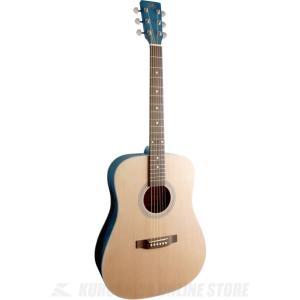 SX SD204 TBU (ドレッドノートタイプ・アコースティックギター) (シースルーブルー) (送料無料)|kurosawa-unplugged