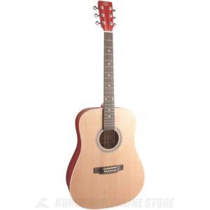 SX SD204 TRD (ドレッドノートタイプ・アコースティックギター) (シースルーレッド) (送料無料)|kurosawa-unplugged