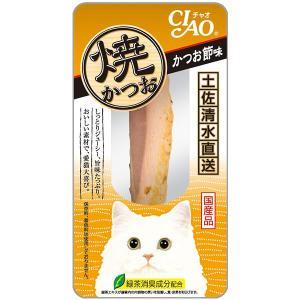 チャオ 焼かつお かつお節味 1本 (キャットフード/猫用おやつ/猫のおやつ・猫のオヤツ・ねこのおや...