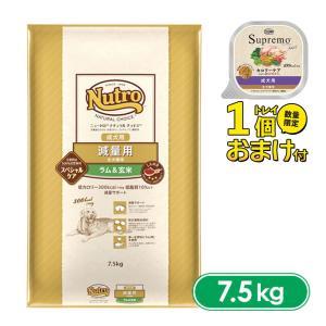 ニュートロ ナチュラルチョイス ドッグフード 減量用 全犬種用 成犬用 ラム&玄米 7.5kg