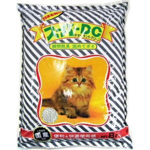 猫砂 スーパーキャット スーパーDC 猫砂 8L (鉱物系の猫砂/ねこ砂/ネコ砂)(猫の砂/猫のトイ...