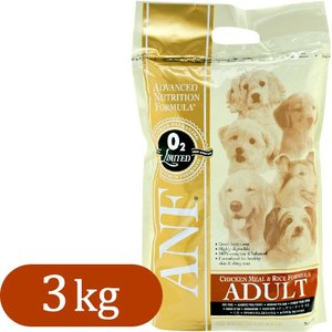 ANF アダルト チキン&ライス 3kg (ドッグフード/ドライフード/成犬用 アダルト/ペットフード/ドックフード)