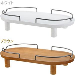 リッチェル ペット用木製テーブル ダブル (犬用食器台/食器台・テーブル)(犬用品/ペットグッズ)