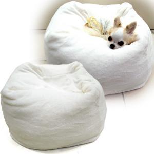ボストーク マシュマロクッション ホワイト 犬用ベッド (犬用品・猫用品/クッション)(ベッド・マット/カドラー/ペットベッド)